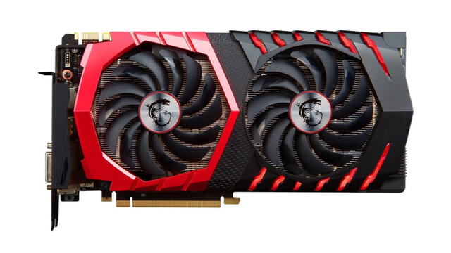 MSI Gaming X GTX 1080 is the Best GTX 1080 for Noise