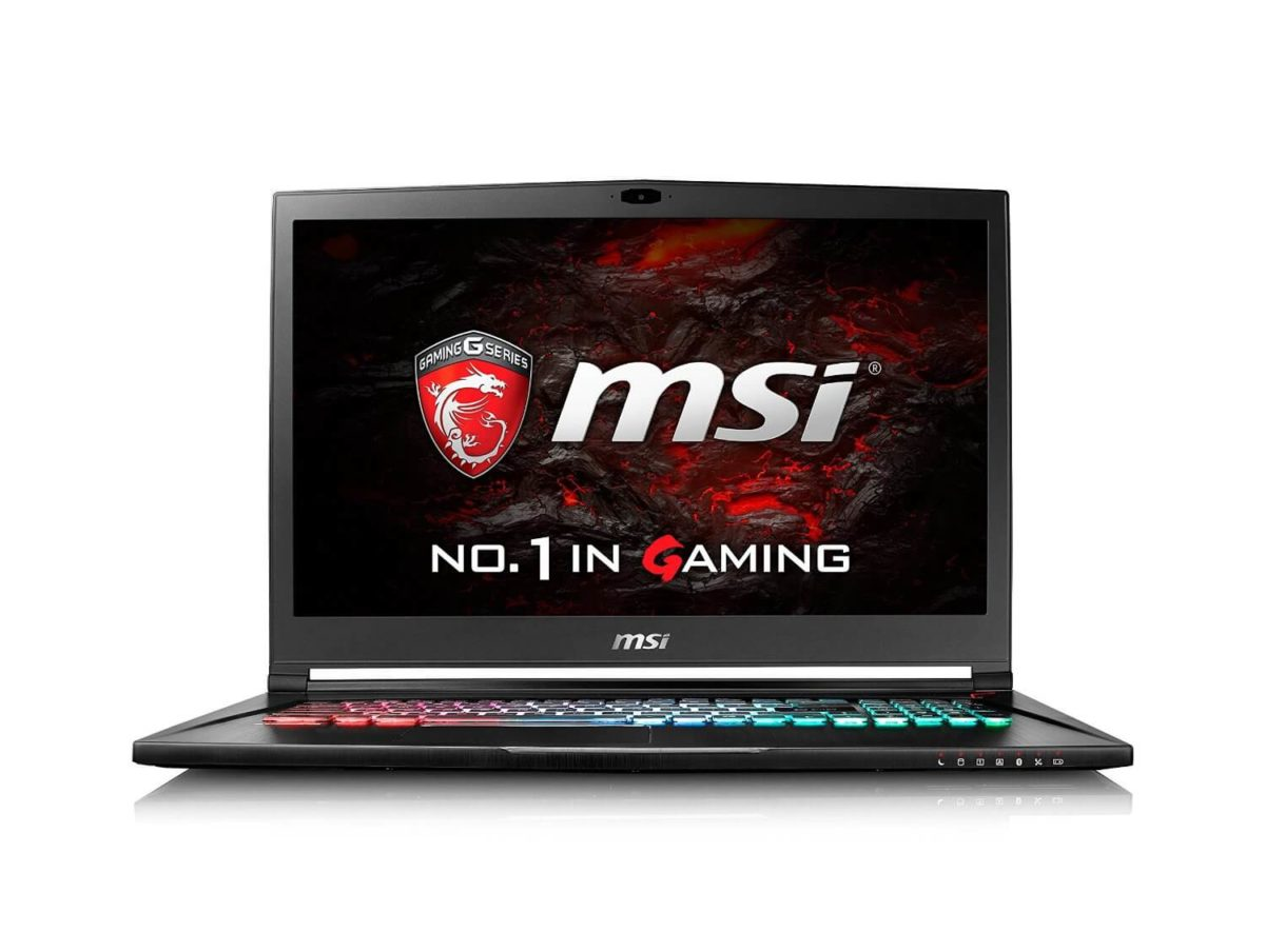 MSI VR Ready GS73VR Stealth Pro 4K