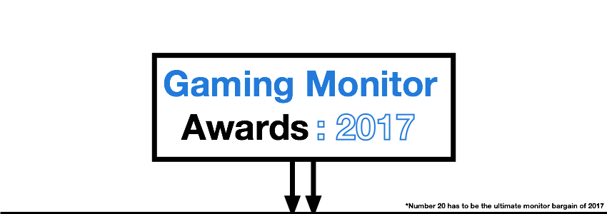 Best Gaming Monitor of 2017 Award
