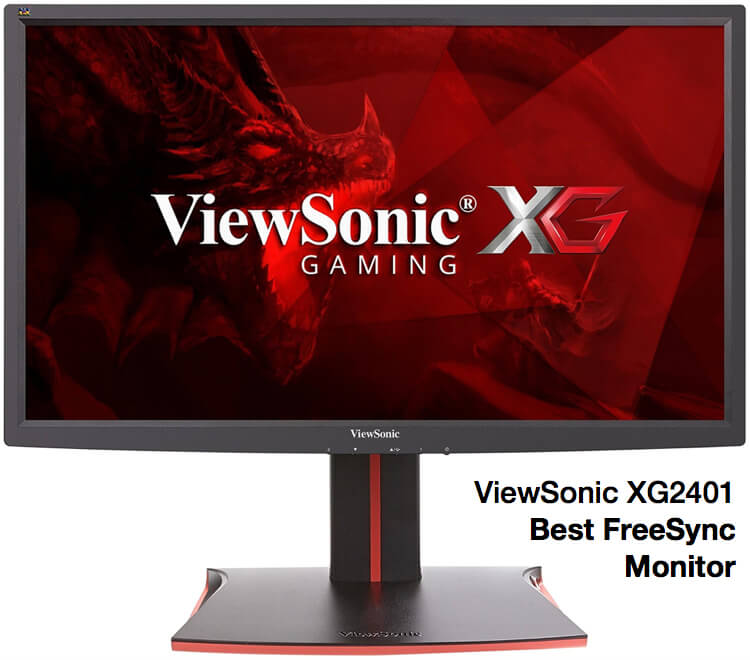 ViewSonic XG2401 Best FreeSync Monitor