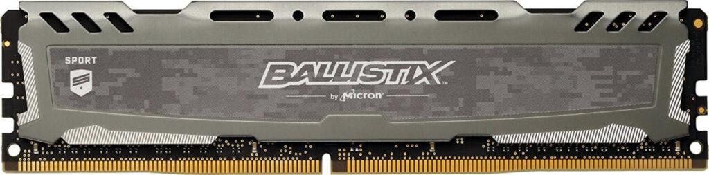 600 Dollar Gaming PC RAM Crucial Ballistix Sport LT 8GB Single DDR4 2400