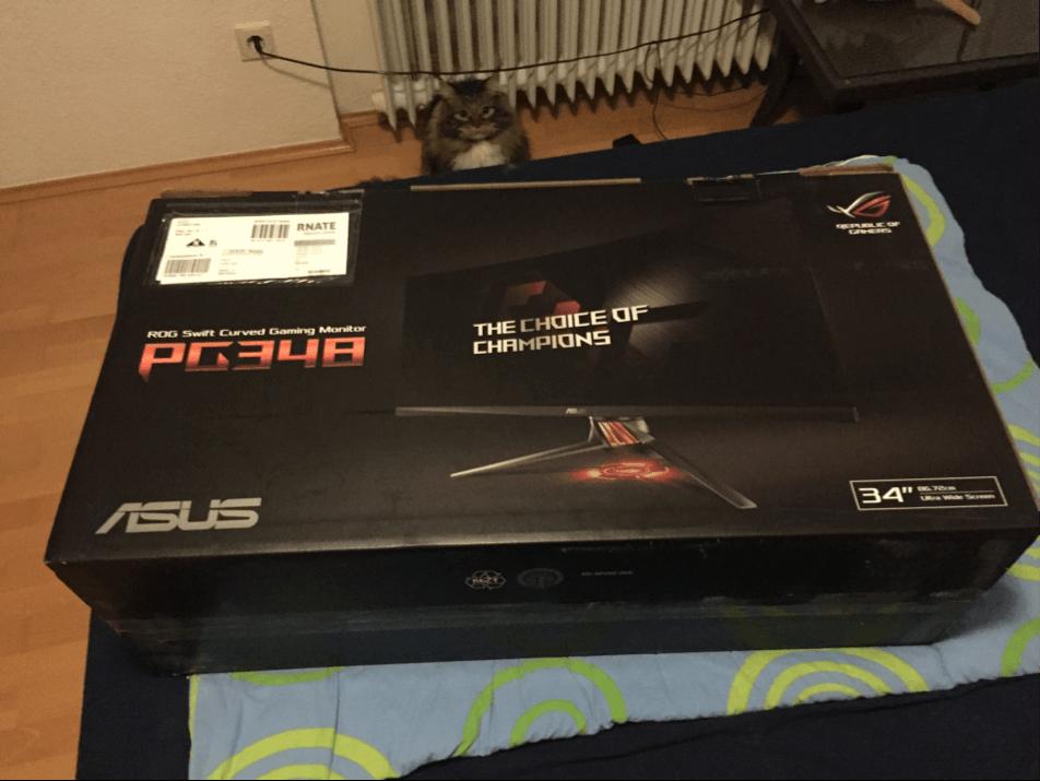 ASUS PG348Q Box