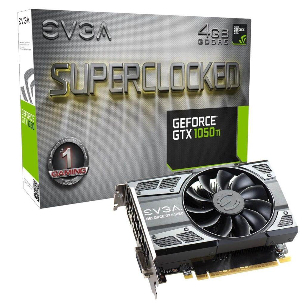 EVGA GeForce GTX 1050 Ti SC GAMING 600 Dollar Gaming PC GPU