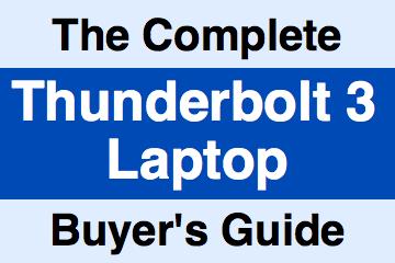 Best Thunderbolt 3 Laptops