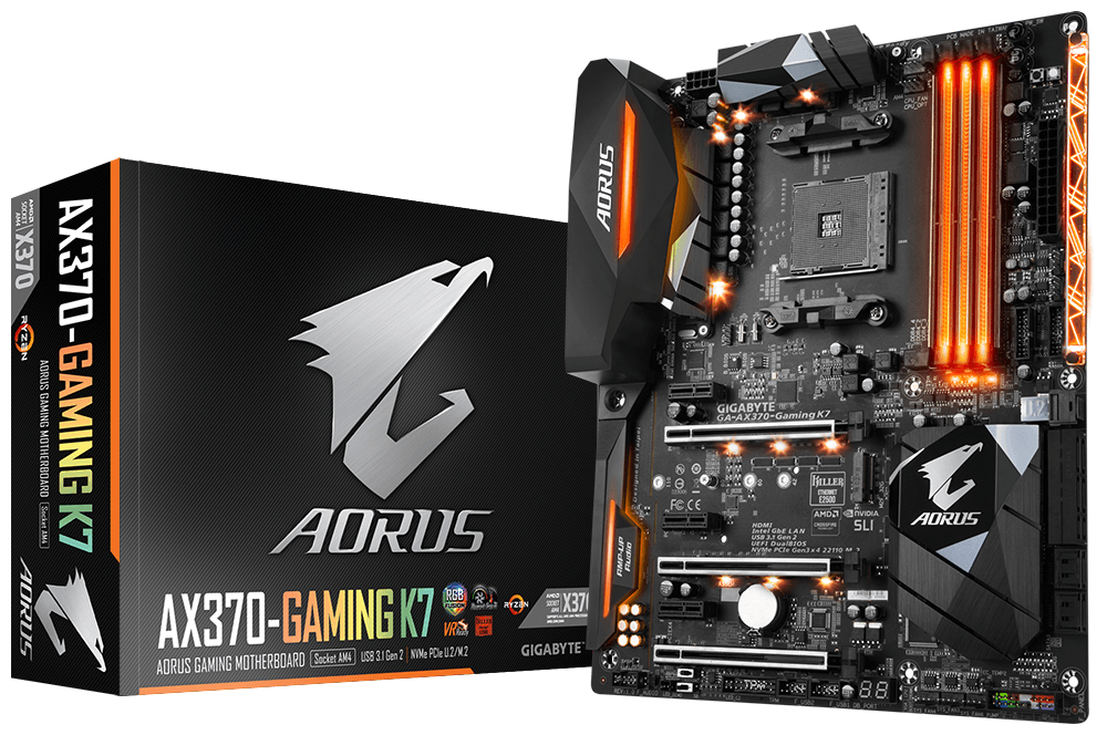 GIGABYTE GA-AX370-Gaming K7 AMD AM4 Motherboard