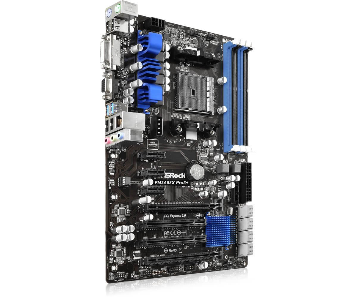 Asrock FM2A88X Pro3+ Budget Motherboard for Gaming