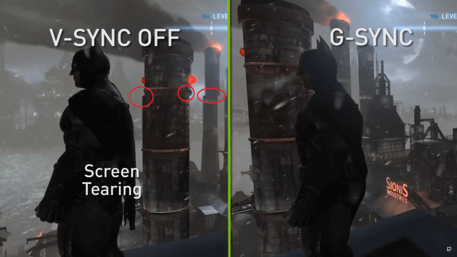 how to fix screen tearing on tv