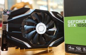 GTX 1050 Ti Graphics Card