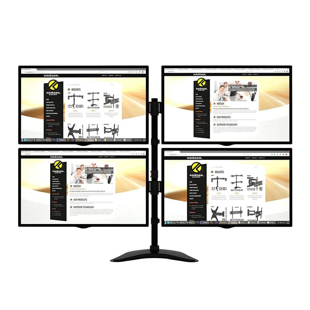 KRIËGER KL4327 4 Monitor Stand