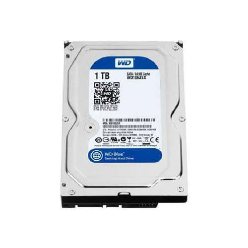 WD Blue 1TB Budget Hard Drive for Gaming