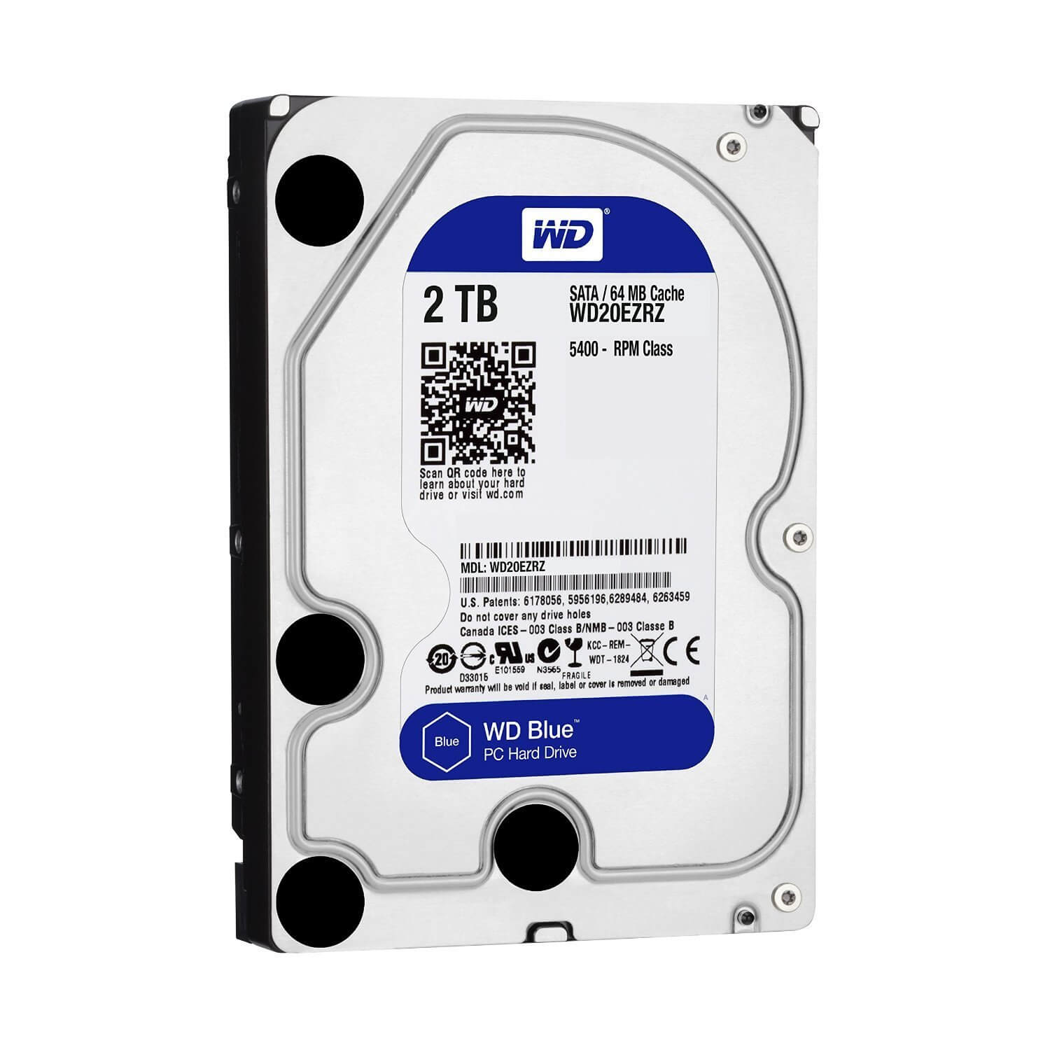 WD Blue 2TB HDD For Gaming