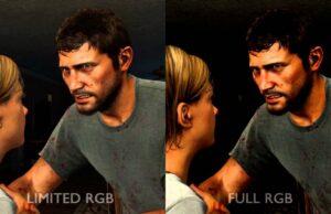 RGB Full vs RGB Limited
