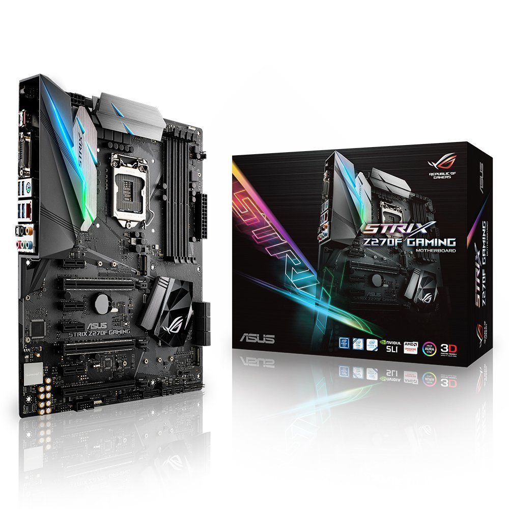 ASUS ROG STRIX Z270F GAMING Motherboard with USB Type C