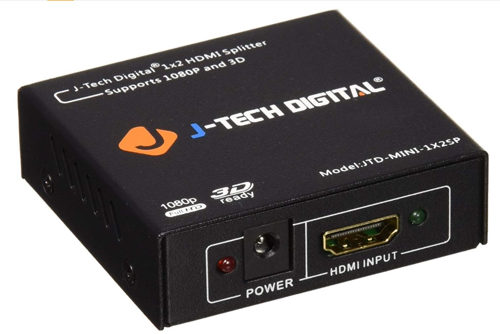 J-Tech Digital hdmi splitter