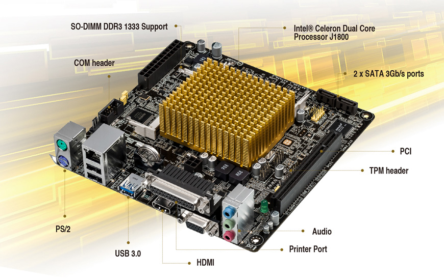 parts of an asus motherboard4