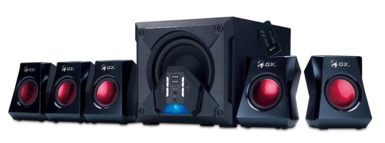 Genuis GX Gaming 5.1 Surround Sound Speakers