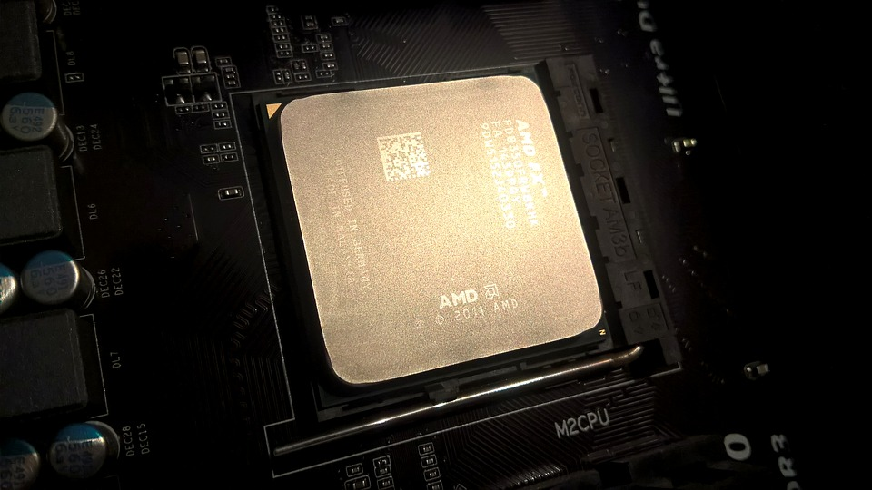 amd fx 6300 processor on a motherboard