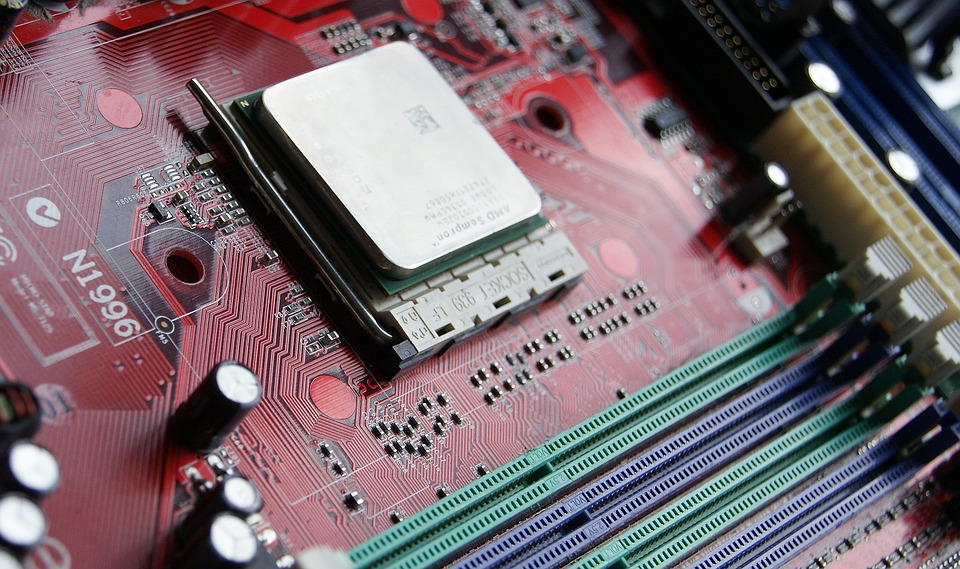amd fx 6300 processor on red motherboard